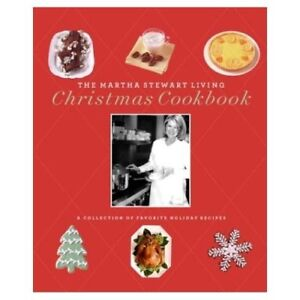 MARTHA STEWART LIVING CHRISTMAS COOKBOOK BRAND NEW!