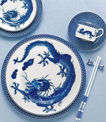 Mottahedeh Blue Dragon 5 Piece Place Setting