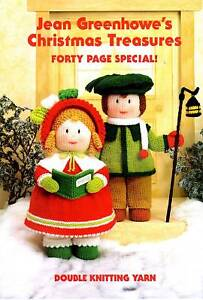 JEAN GREENHOWE KNITTING TOY PATTERN CHRISTMAS TREASURES
