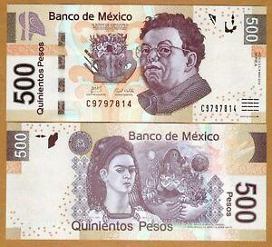 Mexico-500-Pesos-2010-P-126-A-Serie-UNC