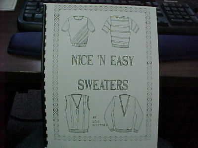 Nice' N Easy Sweaters, Circular Sock,Detachable Collars