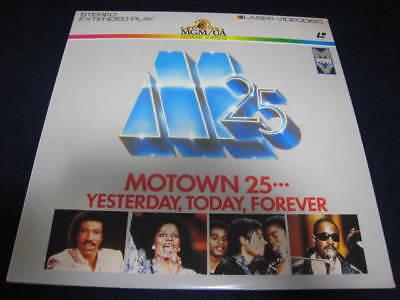 Motown 25 Japan DBL Laserdisc Michael Jackson Dianna Ross Marvin Gaye