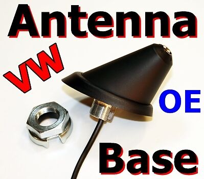 oe Volkswagen Golf Antenna Base 1999-2006 Fuba Vw