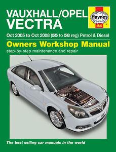 Haynes-Workshop-Repair-Manual-Vauxhall-Vectra-05-08
