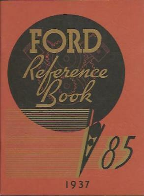 1937 Ford Car (8 Cylinder) Owner's Manual