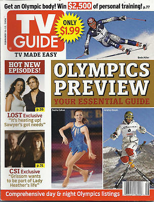 Tv Guide Magazine Olympics Preview Josh Holloway How I Met Your Mother Listings