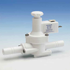 WHALE GROOVED IN LINE PRESSURE SWITCH WU7207 caravan camper water pump 350330