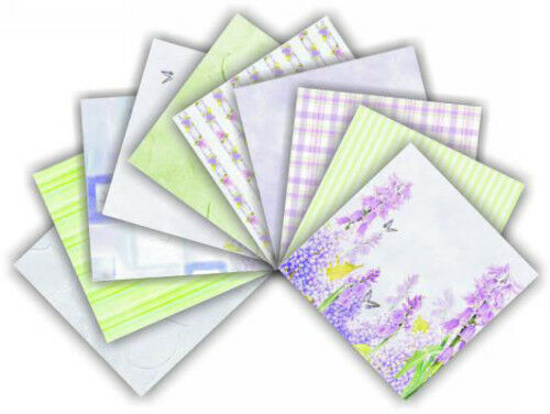 "Scrapbooking Papers Pack 12"" x 12"" Lavender FPCK03"