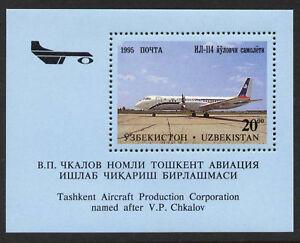 Uzbekistan-95-MNH-Aircraft