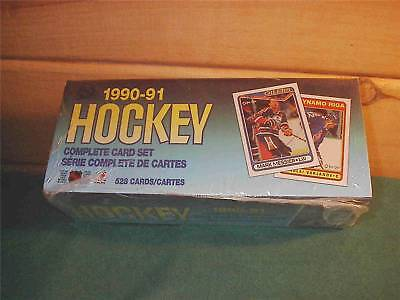 1990 O-pee-chee Nhl Hockey Factory Sealed 528 Card Set