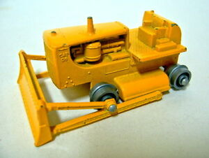 Matchbox 1-75 serie 18d caterpillar excavadoras rare roles de argento