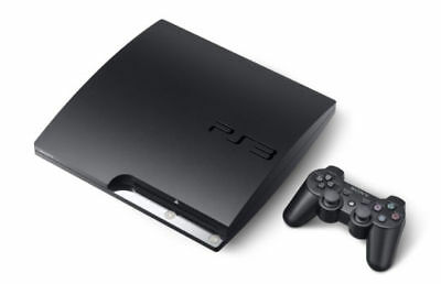 Sony PlayStation 3 Slim 160 GB Charcoal Black Console!!