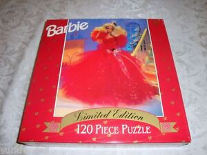Barbie-Limited-Edition-1988-DOLL-Puzzle-120-Pcs-NEW