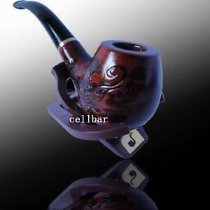 New-Wooden-Smoking-Tobacco-Pipe-Stand-Pouch