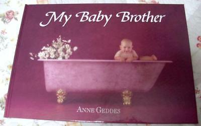 Anne Geddes My Baby Brother Baby Book Journal Great Gift Rare