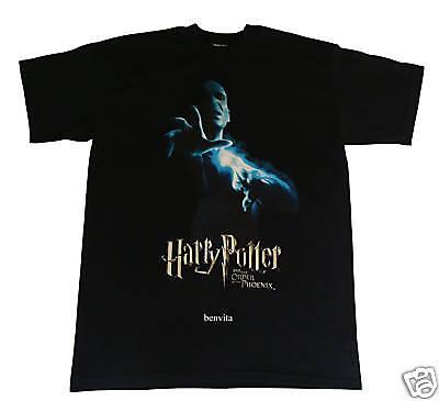 Harry Potter Voldemort T-Shirt Gr. M/L schwarz 100% Baumwolle Cinereplicas Neu