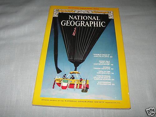 NATIONAL GEOGRAPHIC December 1978 ONTARIO CANADA Yellowstone THOR HEYERDAHL