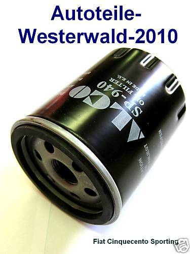 4001 660 FIAT PUNTO Typ 176 40kw Filter Ölfilter 940
