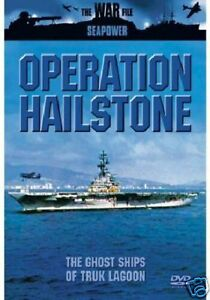 OPERATION HAILSTONE - GHOST SHIPS OF TRUK LAGOON DVD