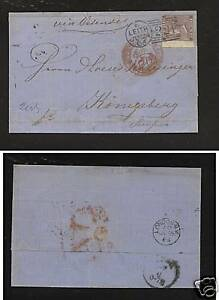 Great Britain 39 on cover 1863 catalog $175.00 RL0730
