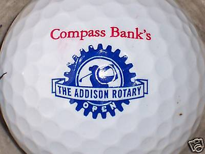 1  Compass Bank Logo Golf Ball Balls