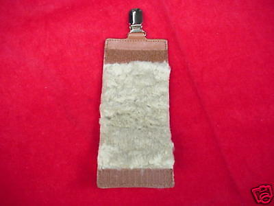 Hardy Leather Double Size Fly Holder Great