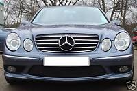 Mercedes W211 E Class Cl Style Grill Grille Black Amg Style Models To 2006 - cks - ebay.co.uk