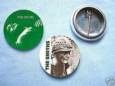 The Smiths-Set Of 2  Badges Morrissey