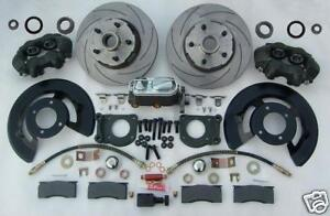 New-67-69-KH-Ford-Mustang-5-lug-Front-disc-brake-conversion-kit-Falcon