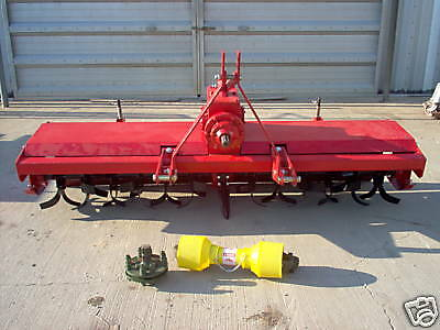 heavy duty 3 point 6 ft. rotary tiller tractor tiller