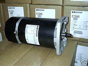 motor pool pump 1 hp ge marathon square flange c1245 ebay