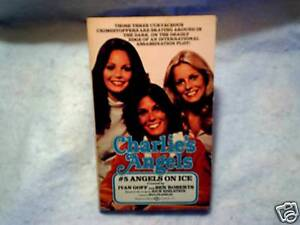 1978 CHARLIE'S ANGELS #5 TV Show Paperback jaclyn smith,kate jackson,cheryl ladd