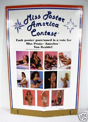 Vintage 1990 Miss America Poster Contest Poster Set 77 Posters And Display Box