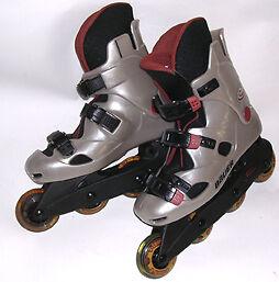 Bauer V-Tech 5 Inline Skates- Womens Size 8 - Mens 6
