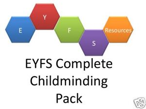 EYFS 2012 Resources: The Complete Childminding Portfolio of paperwork & policies