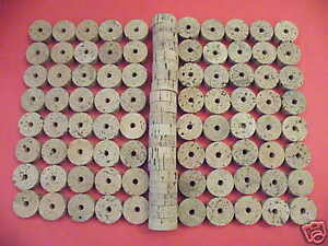 "100 CORK RINGS 1 14""X12"" BORE 14"" GRADE B FREE SHIP FOR WORLDWIDE"