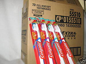 COLGATE-SOFT-FULL-HEAD-TOOTHBRUSHES-72-EA-CASE-LOT