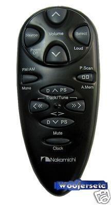 Nakamichi Car Audio Stereo Universal Wireless Remote Cd Player Radio Control on sale