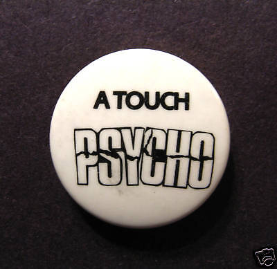 VINTAGE BADGE 1980's 1 INCH BUTTON PIN HUMOUROUS