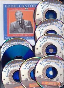 EDDIE-CANTOR-8-CD-GIFT-SET-of-OLD-TIME-RADIO-SHOWS-OTR