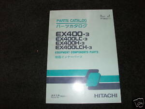 Hitachi-EX400-3-EX400LC-3-H-Components-parts-manual