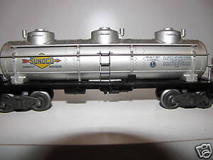 Lionel 6415 Sunoco Tank Car C 7 Condition Ebay