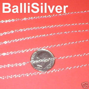 10-feet-BULK-St-Silver-Fine-OVAL-CABLE-CHAIN-1-2x2mm