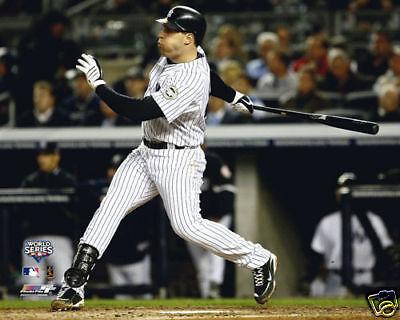 Mark Teixeira 2009 World Series Home Run Hr Yankees 8x10 Photo