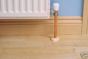 Oak Radiator Pipe Rose Cover Oak Flooring Ebay