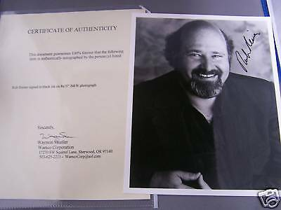 ROB REINER AUTOGRAPHED 8 X 10 with COA!!  L@@K  Nice