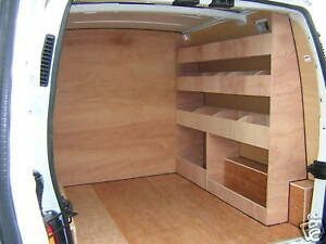 Plywood Racking For Vans