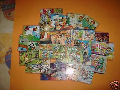 20 verschiedene Ü-Ei-Puzzle - alle mit BPZ - Alle TOP in Puzzlehüllen !!!
