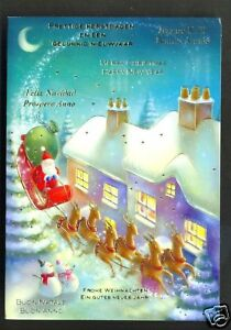 Santa-Claus-Father-Christmas-Sledge-Reindeer