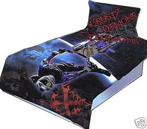 BLACK-CRUSTY-DEMONS-Double-Quilt-Doona-Duvet-Cover-Set